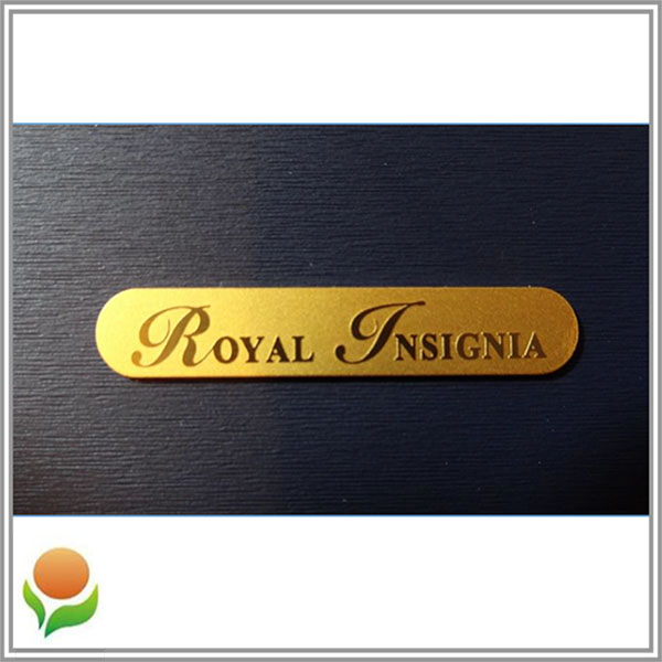 Royal - Etching metal badge for jewelry box