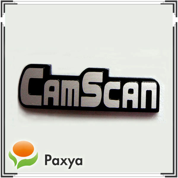 Camscan – Metal emblem for monitor