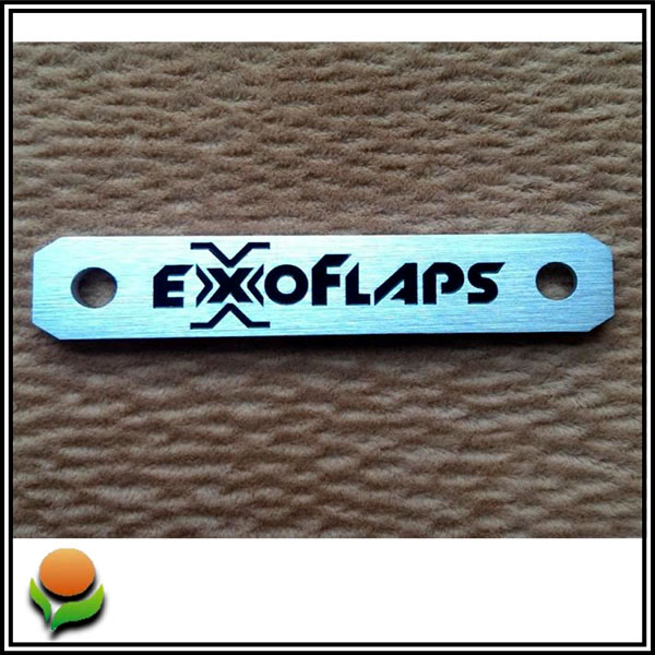 Exoflaps – Metal emblem for mudflaps