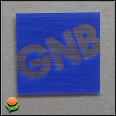 GNB – PC nameplate sticker for consumer electronics